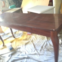 Experiment in Deglossing: Sofa Table