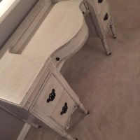 Second Chance: Dumpster Vanity to Glam Masterpiece with DIY Chalk Paint