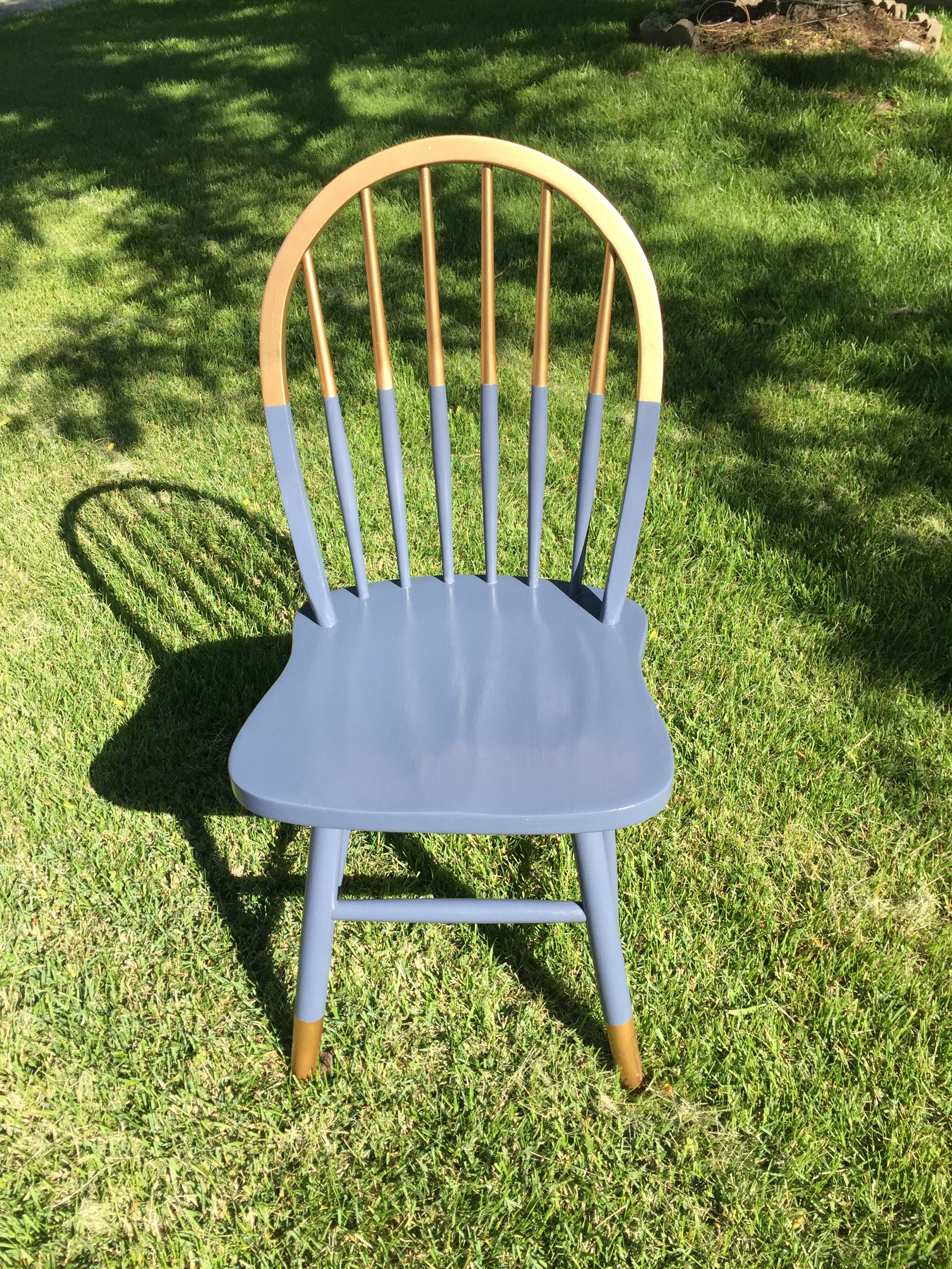For Sale: Arch Spindle Back Chair |